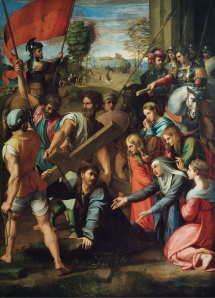 Christ_Falling_on_the_Way_to_Calvary_-_Raphael